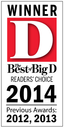 D Magazine - Reader's Choice Best of Big D 2014