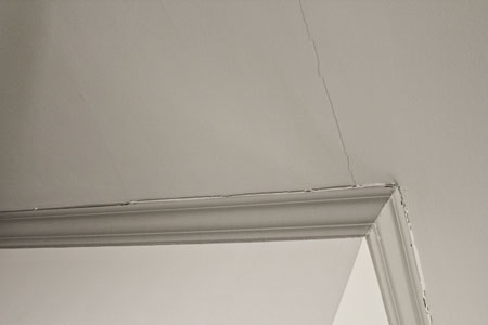 Southern Painting - Ceiling Drywall Cracks