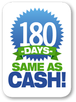 180 Days: Same As Cash!