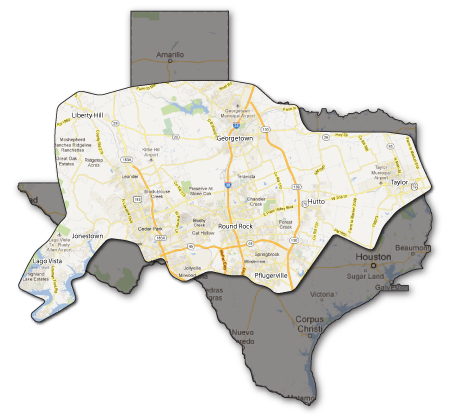 Southern Painting - North Austin Service Areas